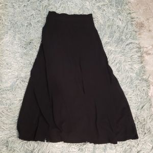 Express Black Maxi Skirt M
